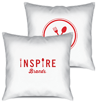 Inspire Brands Throw Pillow Thumbnail