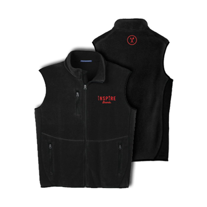 Inspire Brands Fleece Full-Zip Vest
