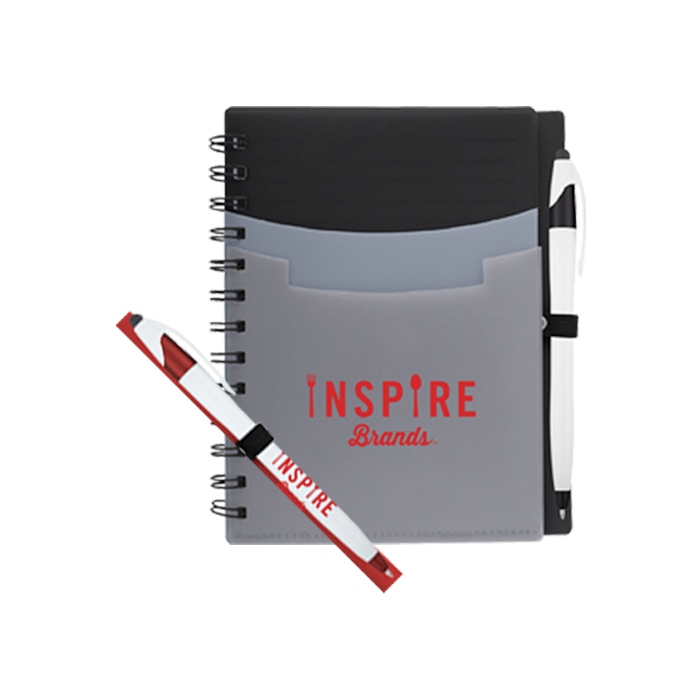 Inspire Brands Notebook w/ Pen